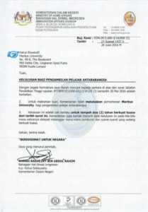 KDN Approval for International Students